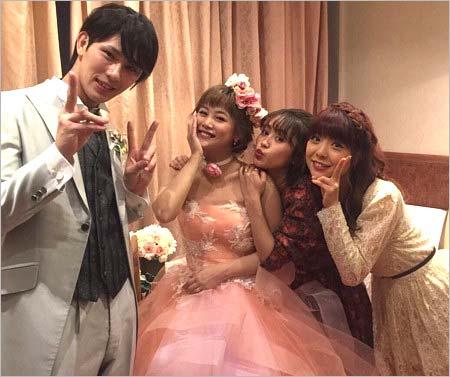 新垣里沙&小谷嘉一の結婚式に同期の小川麻琴、高橋愛が出席
