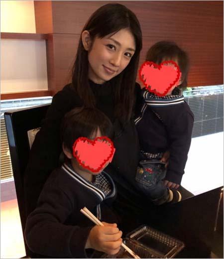 小倉優子と子供