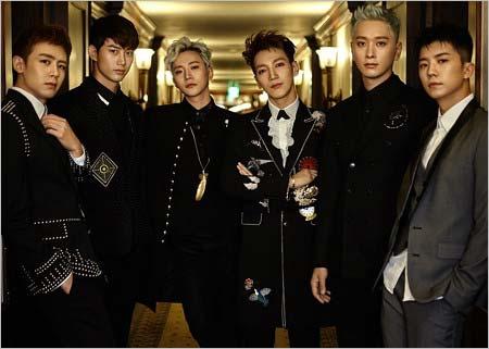 2PMのメンバー写真