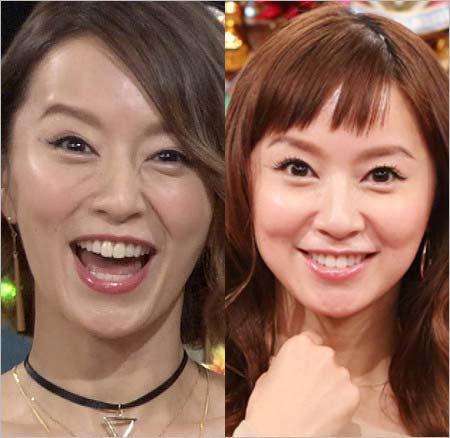鈴木亜美の現在の顔