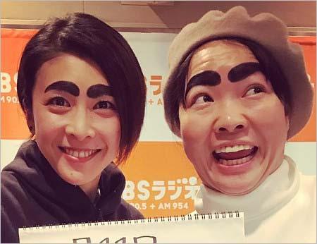 ラジオ共演の竹内結子&イモトアヤコ