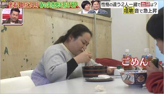 『名医のTHE太鼓判!』ゆいPがオカリナの咀嚼音を注意4枚目