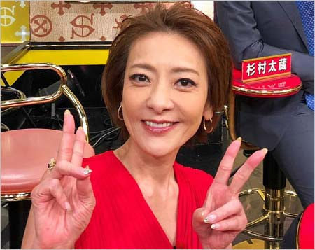 西川史子が2018年3月25日にインスタグラムへ投稿した現在の写真
