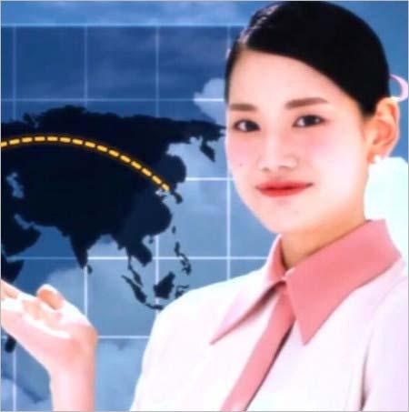 東方神起『Love Line』のMVに登場する世界地図で日本を追加前