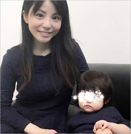 森崎友紀と長女