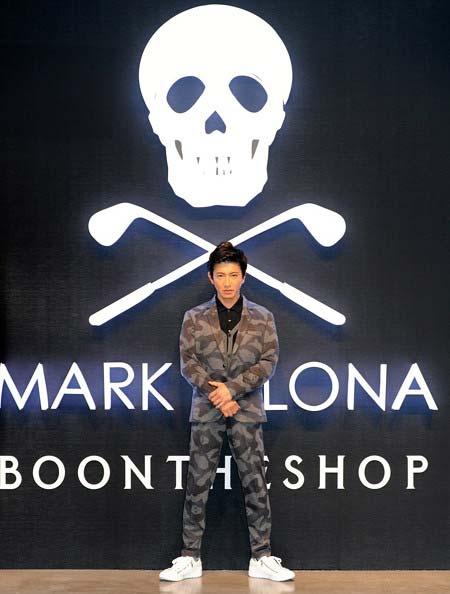 『MARK&LONA』ブランドアンバサダー・キムタク