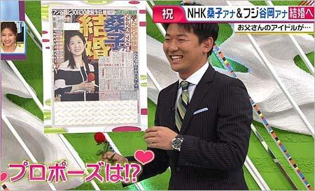 谷岡慎一アナがプロポーズを告白