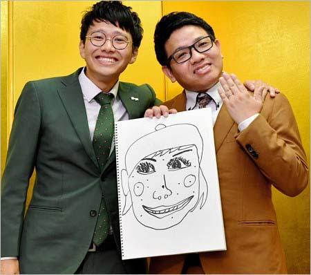 結婚発表したミキ・昂生&亜生