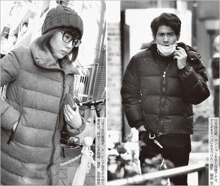 週刊文春が撮影の田中萌&加藤泰平、お泊り後のそれぞれ