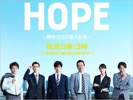 中島裕翔の主演ドラマ『HOPE』