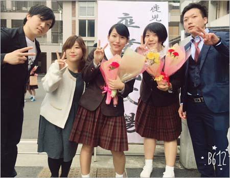 ビッグダディの次女・柔美と三女・詩美の卒業式、次男・熱志、四男・源志