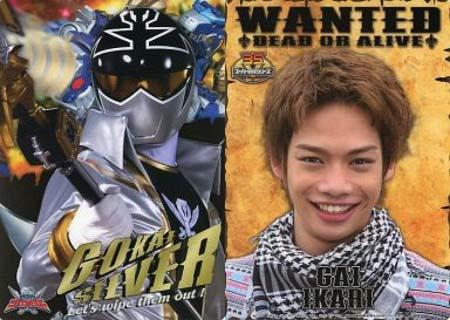 『海賊戦隊ゴーカイジャー』で伊狩鎧/ゴーカイシルバー役を演じていた池田純矢