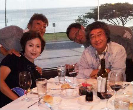 上沼恵美子と夫の上沼真平、ピーター、井上公造