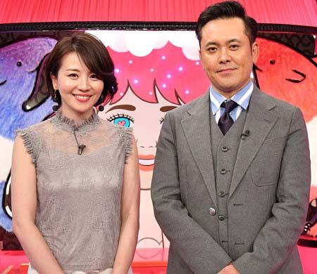 TBS『有田哲平の夢なら醒めないで』司会の大橋未歩アナ&有田哲平