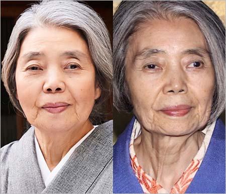 樹木希林が痩せる前と後の顔比較画像