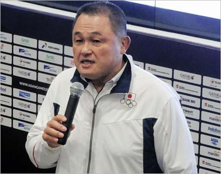 男子バスケ日本代表の不祥事を謝罪した山下泰裕団長