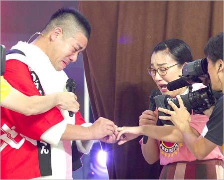 24時間テレビで公開プロポーズしたチェリー吉武&たんぽぽ白鳥久美子