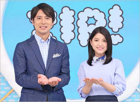 ZIP!司会の桝太一アナウンサー&川島海荷