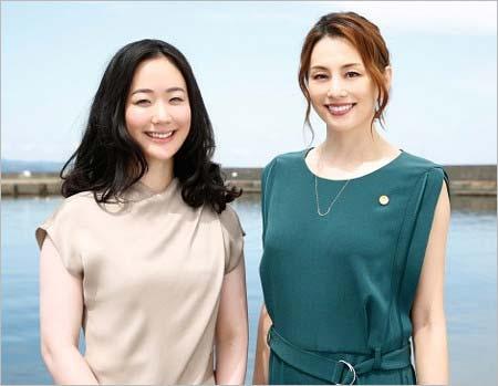 松本清張スペシャルドラマ『疑惑』で共演の黒木華&米倉涼子