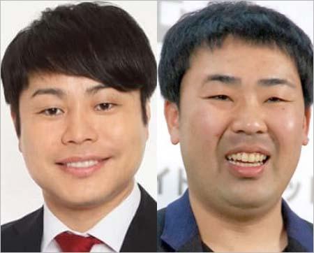 ノンスタイル井上裕介&フットボールアワー岩尾望