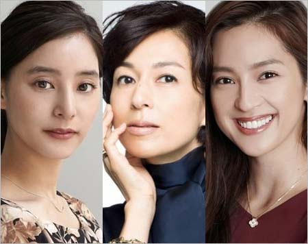 SUITS出演キャストの新木優子、鈴木保奈美、中村アン