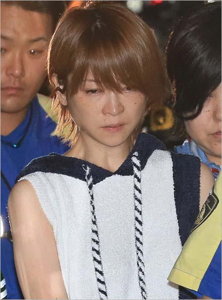 ひき逃げ事故後の吉澤ひとみ容疑者