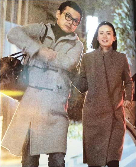中谷美紀と渡部篤郎のプライベートレアツーショット破局前の画像