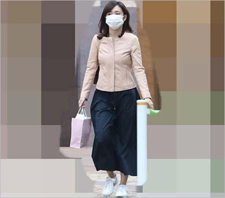 伊藤綾子アナのプライベート私服画像