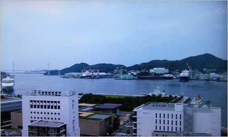 長崎国際テレビ(NIB)の放送事故画面