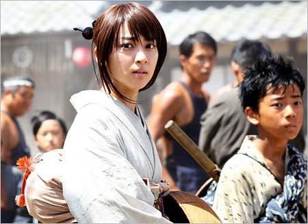 『るろうに剣心』出演の武井咲