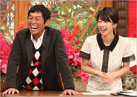 ホンマでっか!?TVの加藤綾子アナ&明石家さんま