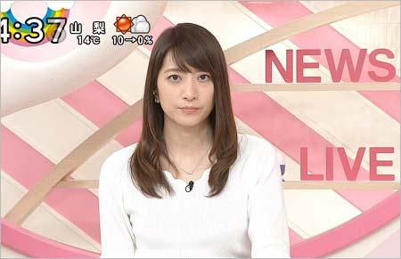 『Oha!4 NEWS LIVE』の笹崎里菜アナ(ささざきりな)
