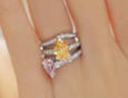 杉原杏璃の結婚指輪