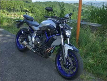 東篤志のバイク
