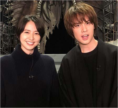 長澤まさみと浦井健治『新感線☆RS メタルマクベス「disc3」』で共演