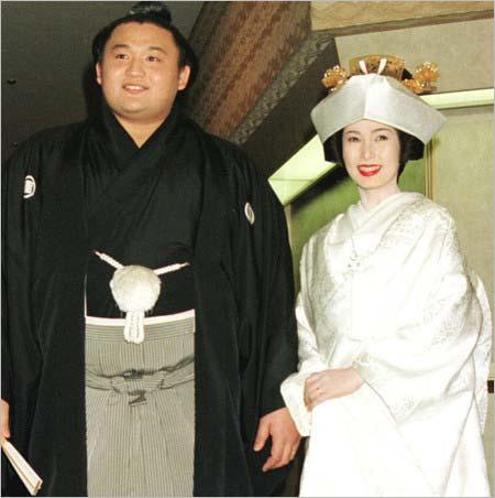 花田光司・河野景子の結婚式写真