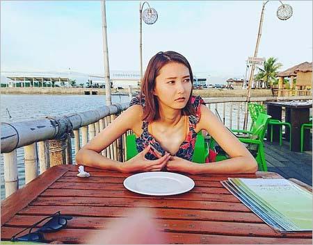 美優のセブ島旅行インスタグラム写真