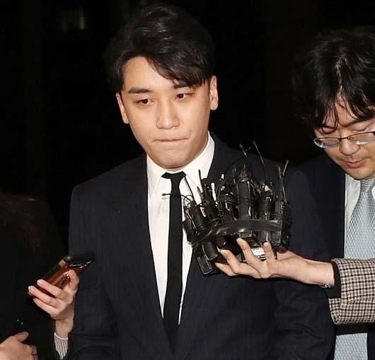 取り調べを受けたBIGBANG・V.I(スンリ)