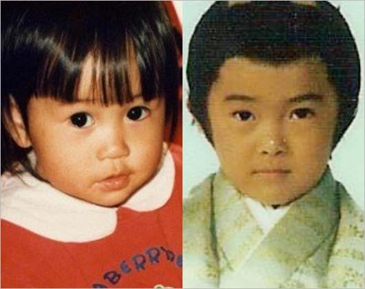前田敦子・勝地涼の子供時代、幼少期の顔画像