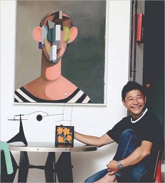 前澤友作社長が所有の絵画