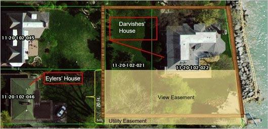 ダルビッシュ有の土地問題・見取り図