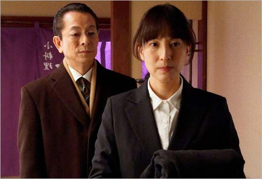 『相棒』月本幸子役の鈴木杏樹と杉下右京役の水谷豊