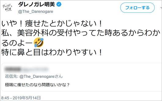 ダレノガレ明美ツイート画像2枚目