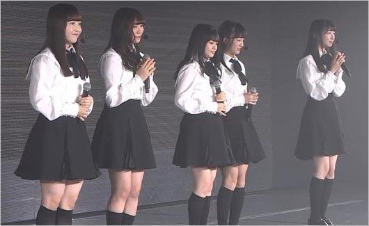 山口真帆・菅原りこ・長谷川玲奈の卒業公演に登場のNGT48メンバー画像1枚目