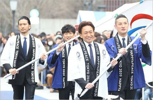 TOKIOが東京五輪のフラッグシップツアー