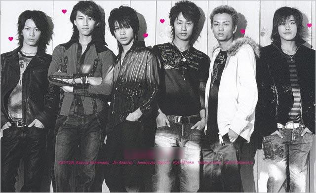 KAT-TUN6人時代
