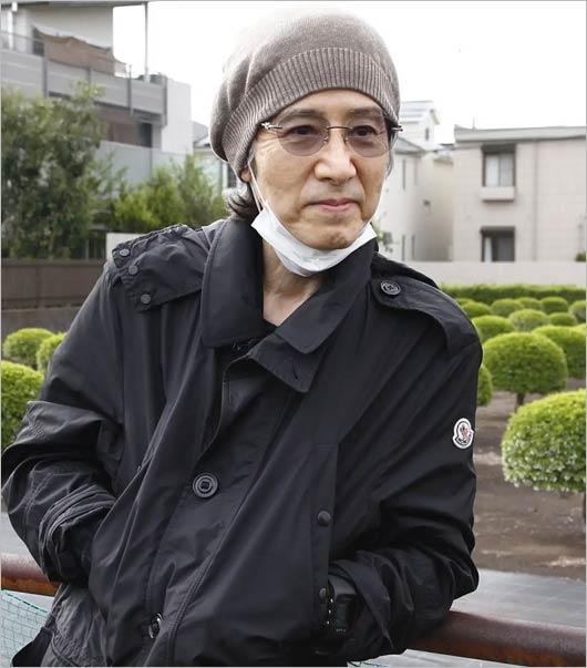 田村正和が2018年4月にフライデーの取材を受けた時の姿