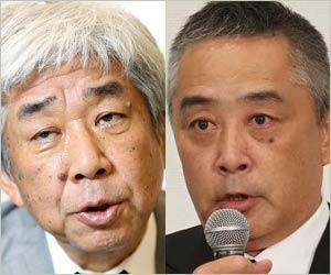 吉本興業の大崎洋会長&岡本昭彦社長
