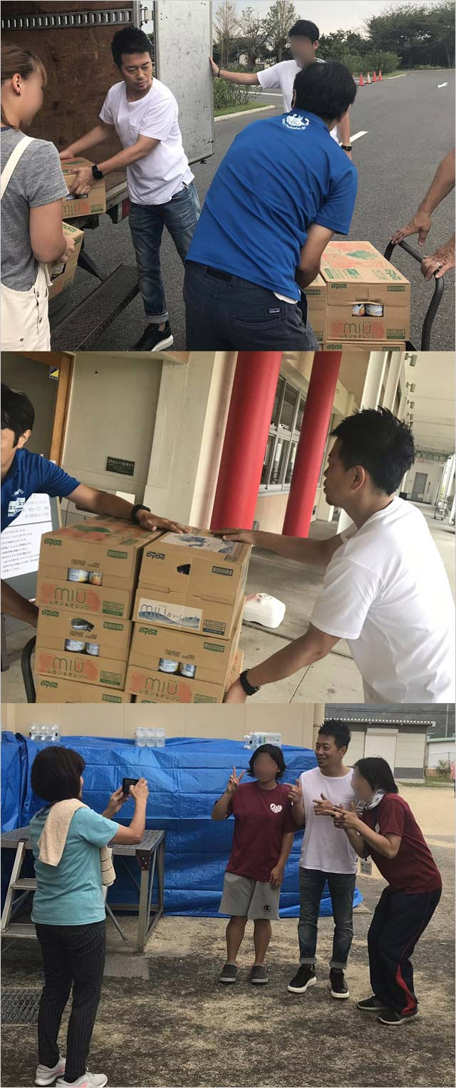 宮迫博之が千葉・鋸南町の保田小学校でボランティア活動の画像