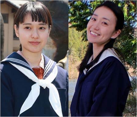 スカーレット戸田恵梨香と大島優子のセーラー服姿の画像